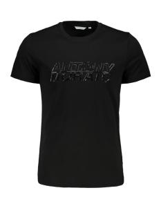 sport the green mmks01816 antony morato t-shirt 9000 black