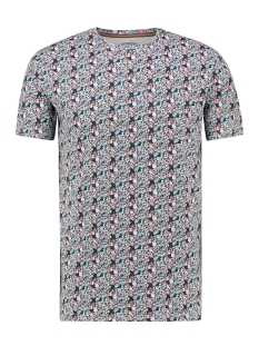 Haze & Finn T-shirt TEE SUBLIMATION PRINT MU13 0002 INDIGO FLORAL