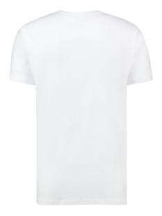 tee hf jacquard embro mc13 0004 haze & finn t-shirt white tulpwood