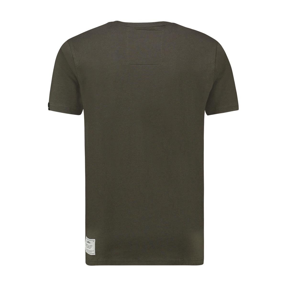 tee arctic logo ma13 0003 haze & finn t-shirt army green light blue