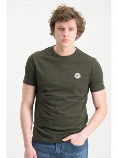 tee logo embro mu13 0010 haze & finn t-shirt army green