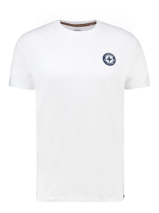 Haze & Finn T-shirt TEE LOGO EMBRO MU13 0010 WHITE