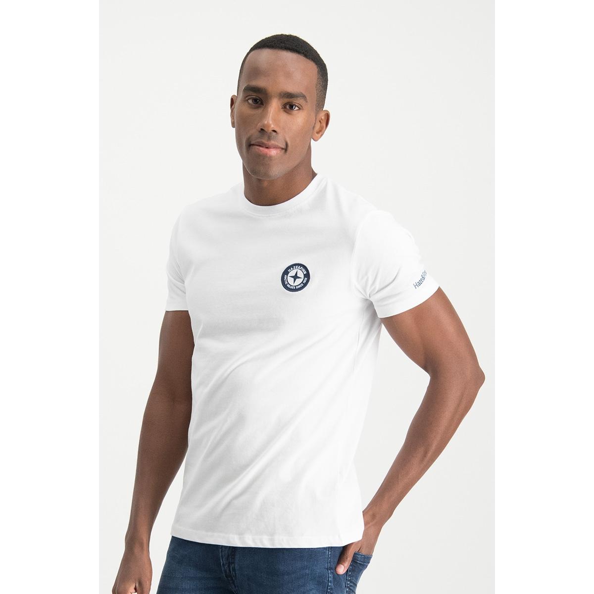 tee logo embro mu13 0010 haze & finn t-shirt white