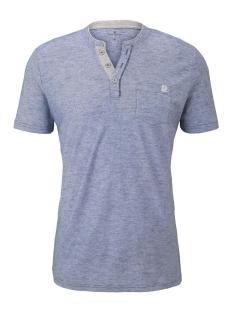 Tom Tailor T-shirt GESTREEPT HENLEY HEMD 1016145XX10 16052