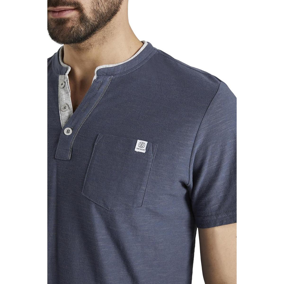 gestreept henley hemd 1016145xx10 tom tailor t-shirt 16061