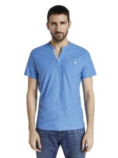 Tom Tailor T-shirt GESTREEPT HENLEY HEMD 1016145XX10 21331