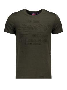 Superdry T-shirt SHIRT SHOP EMBOSSED TEE M1000033B ALBARN KHAKI GREEN