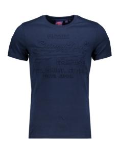 Superdry T-shirt SHIRT SHOP EMBOSSED TEE M1000033B BUCK BLUE MARL
