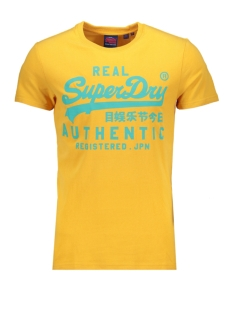 Superdry T-shirt VINTAGE AUTHENTIC FLURO TEE M1000056B GOLDEN YELLOW