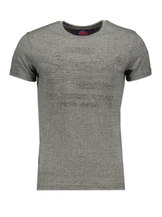 shirt shop embossed tee m1000033b superdry t-shirt jasper grey