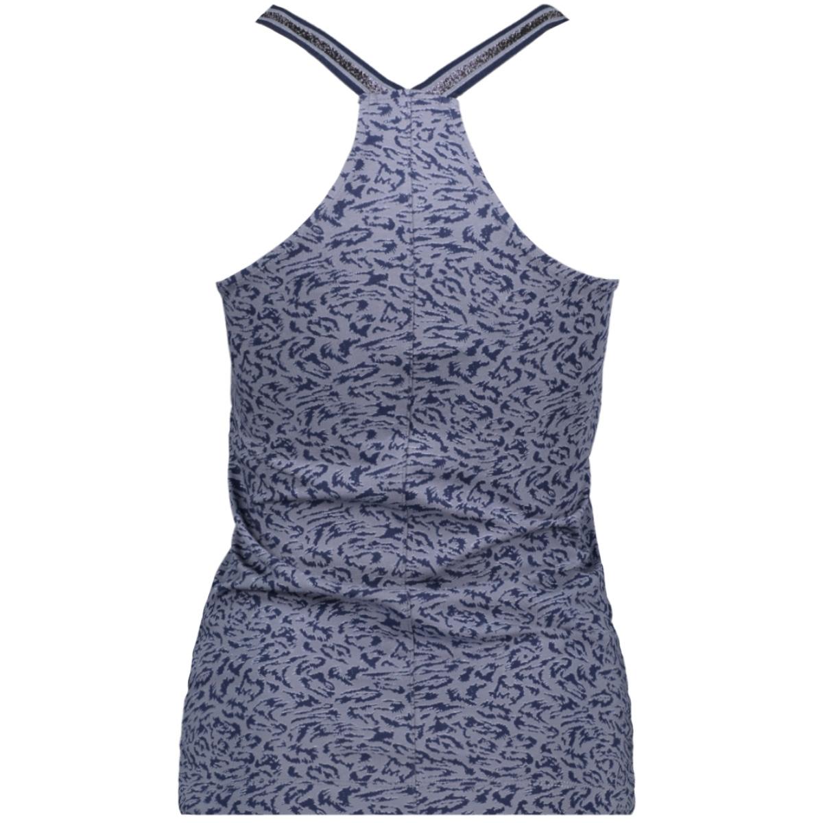 t shirt sleeveless 21101801 sandwich top 41027 blue grey