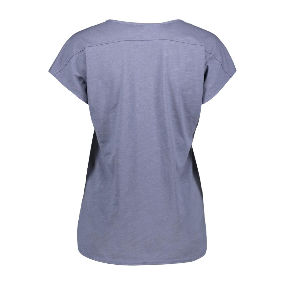 t shirt met korte mouwen 21101863 sandwich t-shirt 41027 blue grey