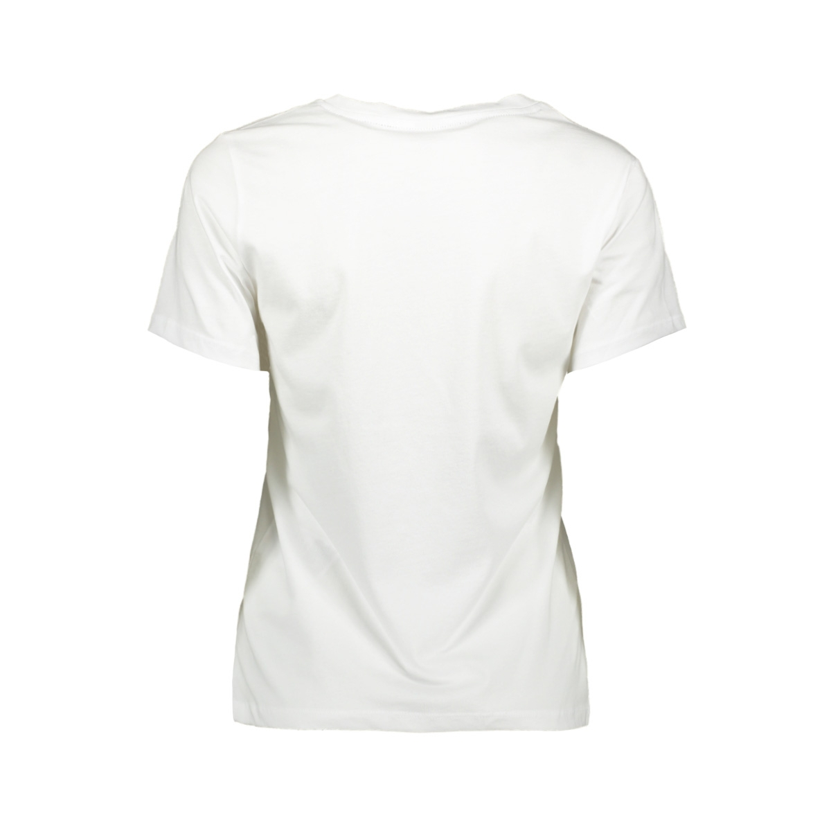 pcstay ss tee d2d 17103822 pieces t-shirt bright white print
