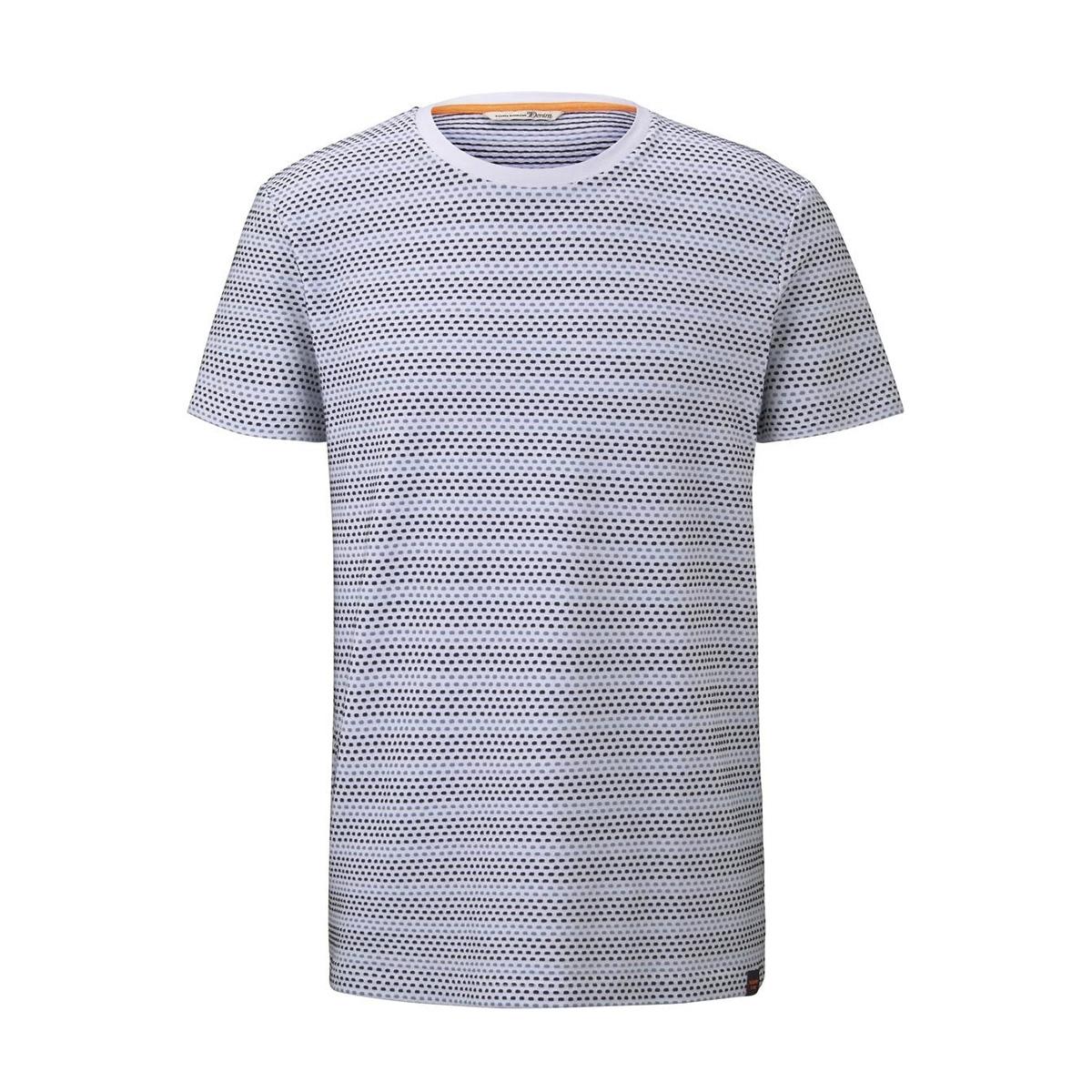 t shirt met patroon 1017292xx12 tom tailor t-shirt 22170