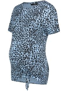 SuperMom Positie shirt TEE SS ANIMAL KNOT 20210018 P514 PLACID BLUE