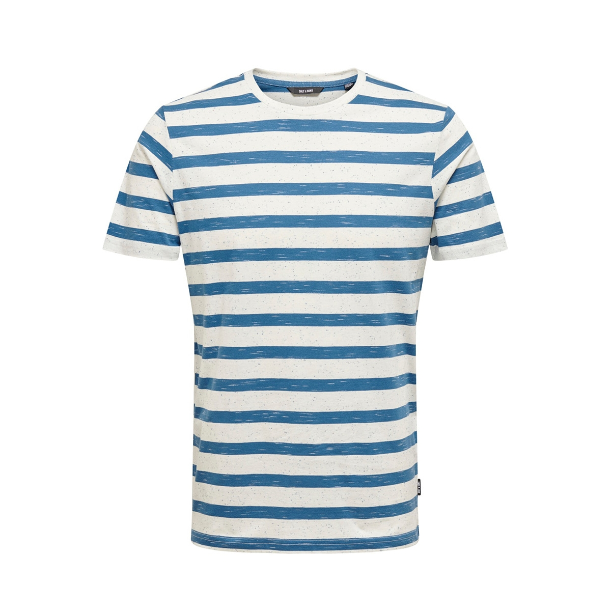 onselky stripe ss tee 22012161 only & sons t-shirt dark blue