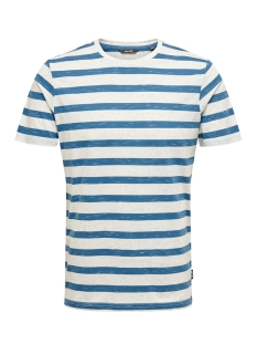 Only & Sons T-shirt onsELKY STRIPE SS TEE 22012161 Dark Blue