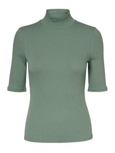 Vero Moda T-shirt VMISLA 2/4 HIGH NECK TOP GA VO 10229752 Laurel Wreath