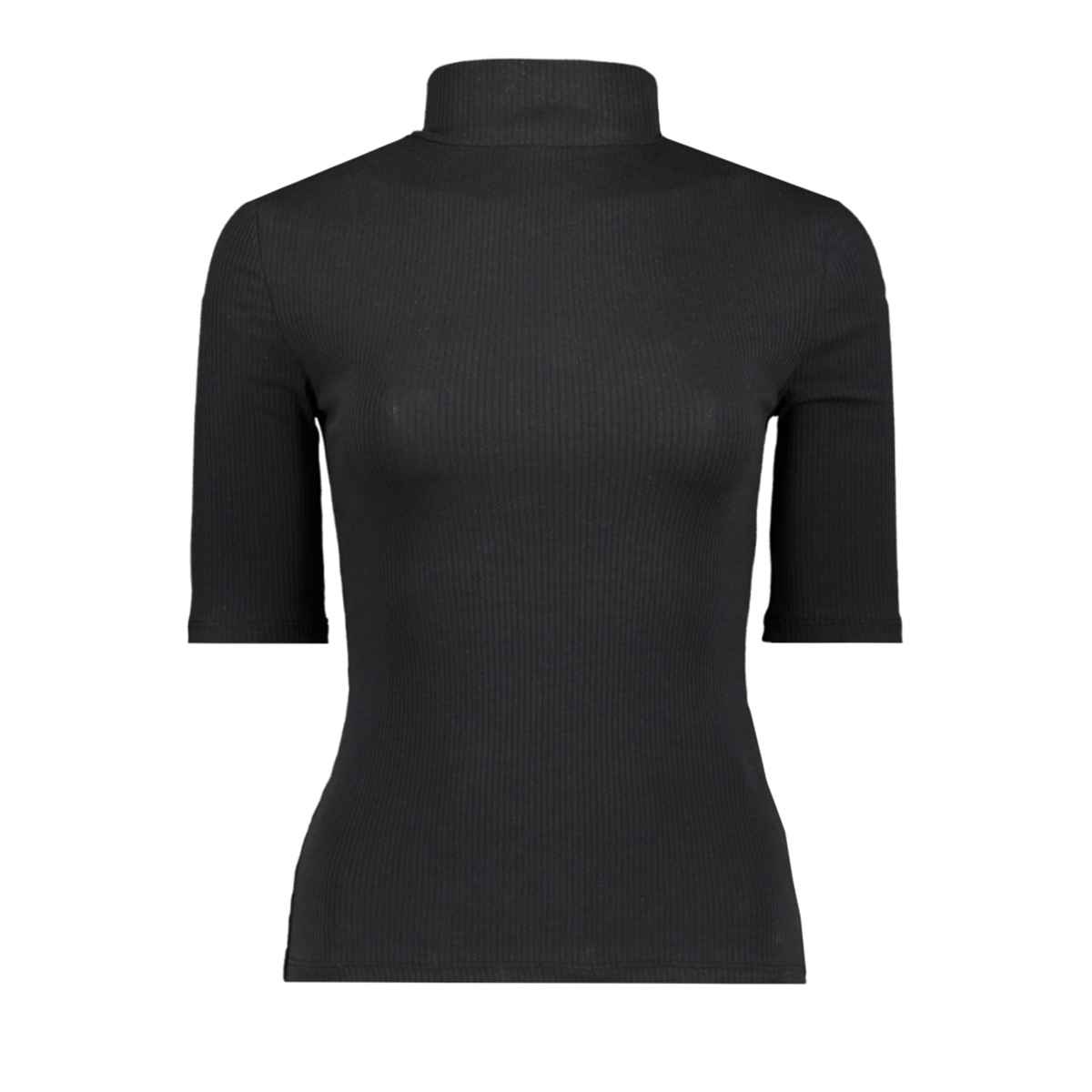 vmisla 2/4 high neck top ga vo 10229752 vero moda t-shirt black