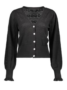 Vero Moda Vest VMVIOLAPUFF LS V-NECK CARDIGAN 10227575 Black