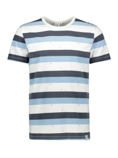 Kultivate T-shirt TS STAIN STRIPE 2001010210 203