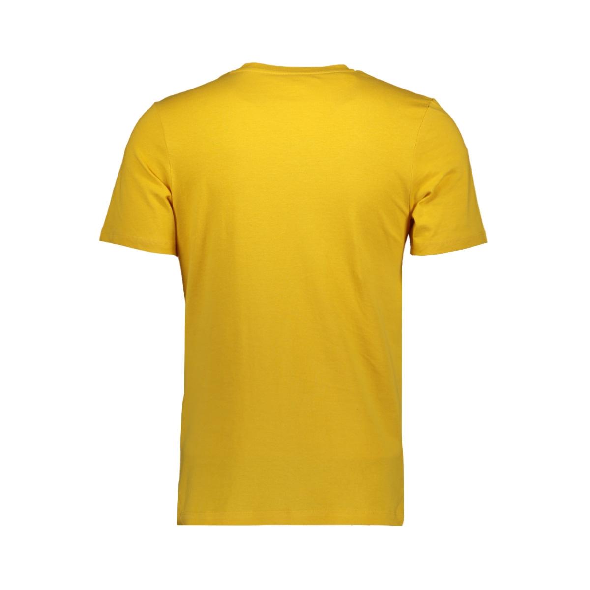 jorpainter tee ss crew neck ka 12179411 jack & jones t-shirt yolk yellow/slim