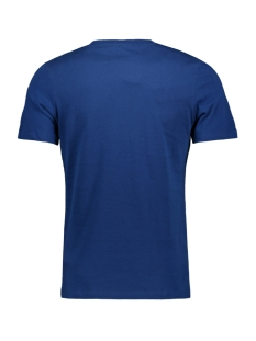 jorpainter tee ss crew neck ka 12179411 jack & jones t-shirt navy peony/slim