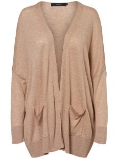 vmeleo oversize ls cardigan 10225497 vero moda vest nomad/w. birch
