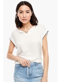 s.Oliver T-shirt T SHIRT MET GLINSTERENDE LOOK 04899326024 0210