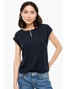 s.Oliver T-shirt T SHIRT MET GLINSTERENDE LOOK 04899326024 5959