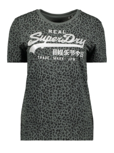 Superdry T-shirt ANIMAL AOP ENTRY TEE W1010021B URBAN CHIC