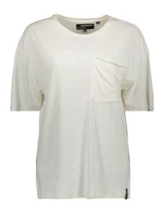 Superdry T-shirt CANYON POCKET TEE W6010010A ECRU