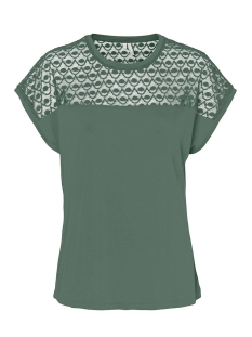 Vero Moda T-shirt VMSOFIA SS LACE TOP GA NOOS 10231073 Laurel Wreath