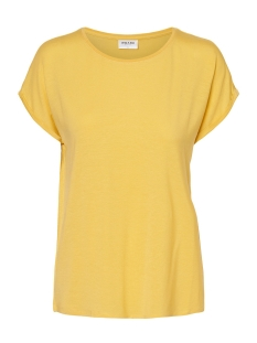Vero Moda T-shirt VMAVA PLAIN SS TOP GA NOOS 10187159 Banana Cream