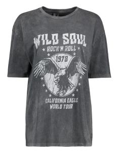 Vero Moda T-shirt VMFOREVER OVERSIZED T-SHIRT EXP 10232956 Black/WILD SOUL