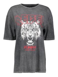Vero Moda T-shirt VMFOREVER OVERSIZED T-SHIRT EXP 10232956 Black/REBEL