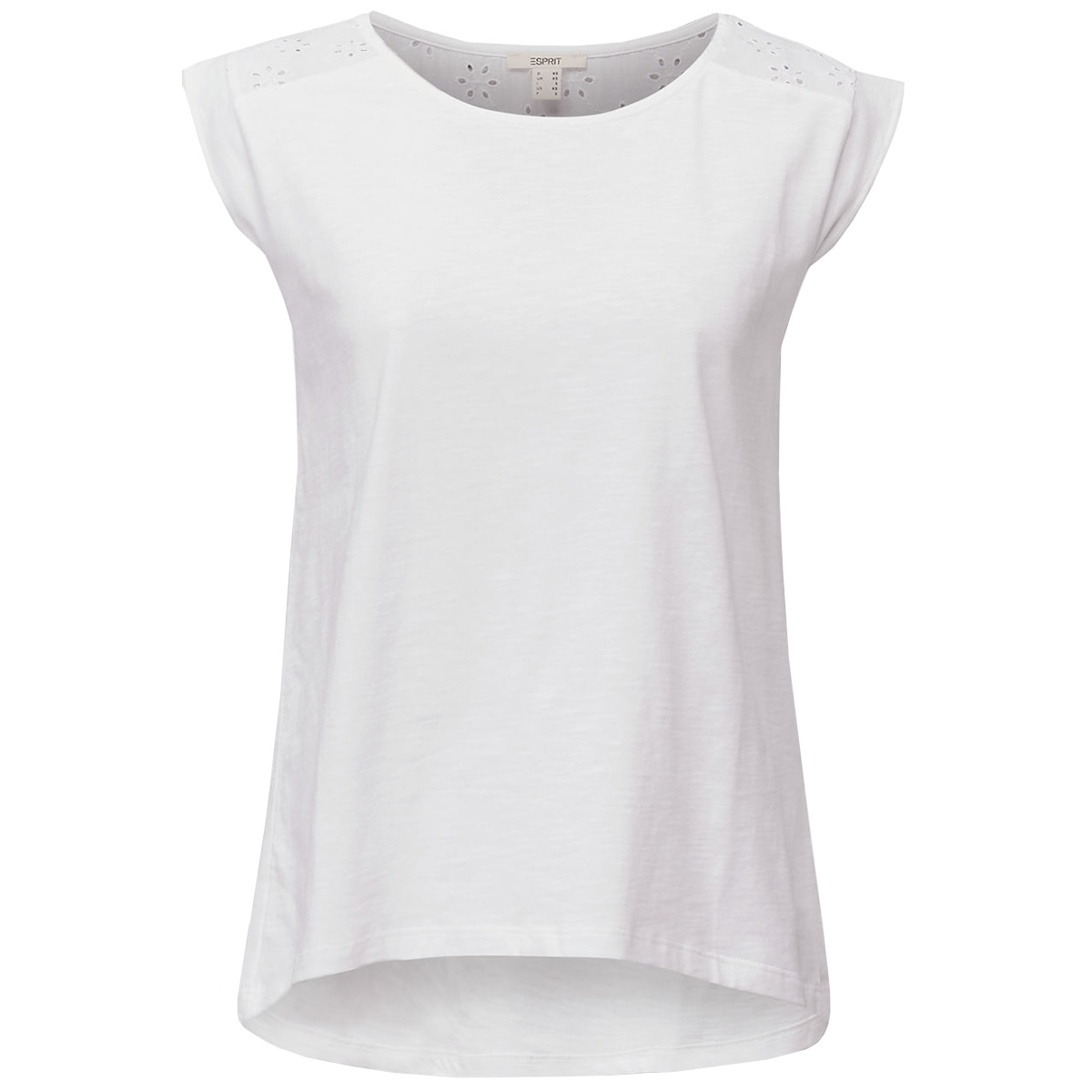 fashion t shirt 030ee1k414 esprit t-shirt e100