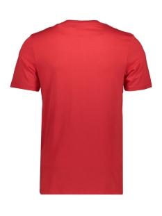 jcoraba tee ss crew neck fst 12172222 jack & jones t-shirt chinese red