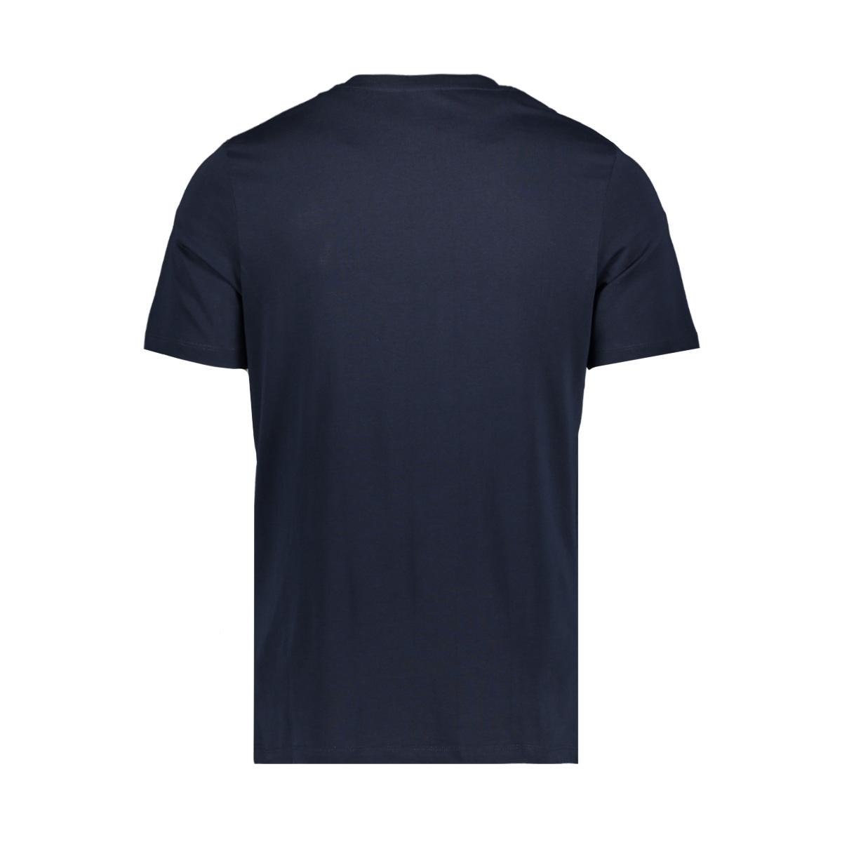 jcoraba tee ss crew neck fst 12172222 jack & jones t-shirt sky captain