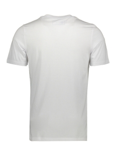 jcolazer tee  ss crew neck 12165656 jack & jones t-shirt white