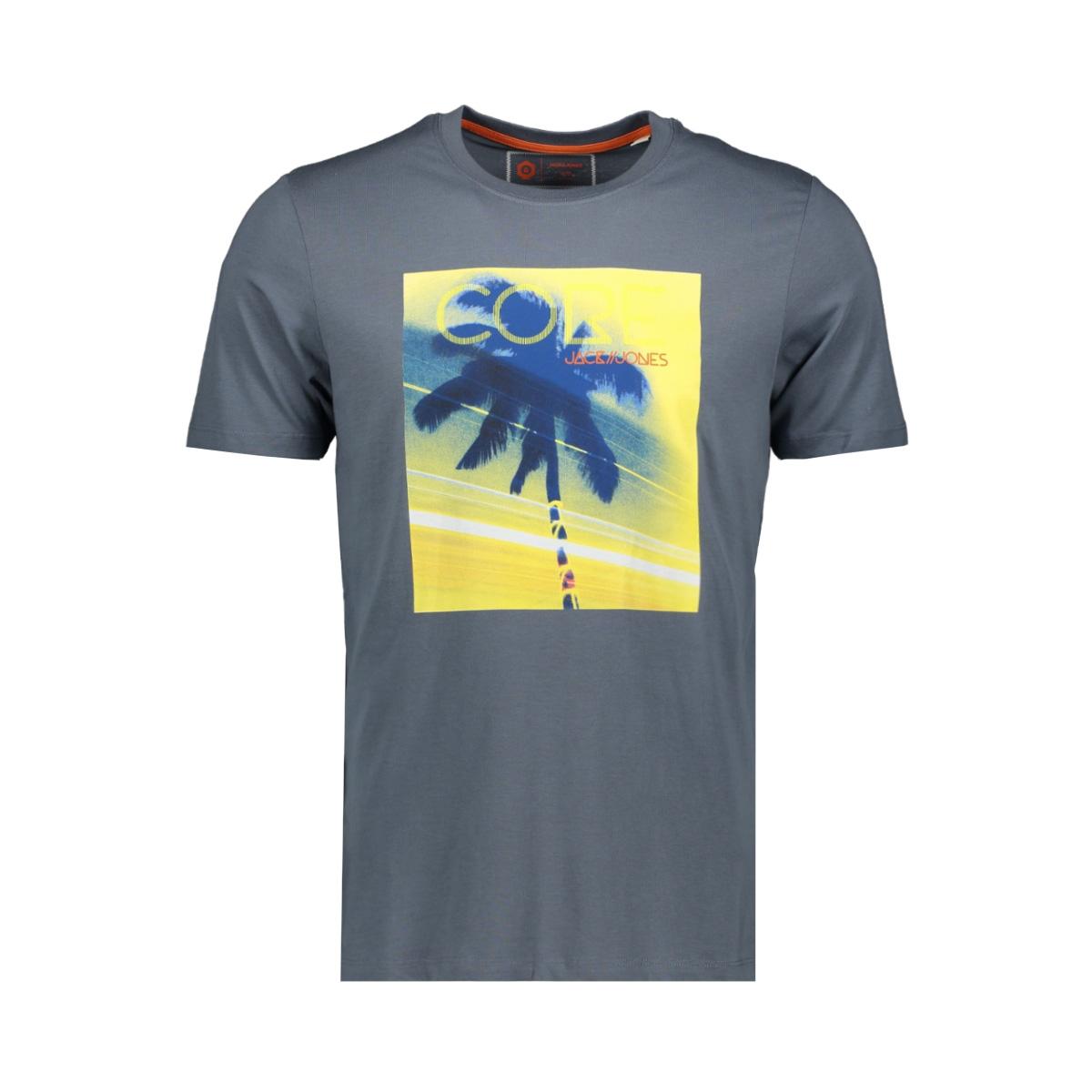 jcolazer tee  ss crew neck 12165656 jack & jones t-shirt china blue