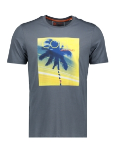 Jack & Jones T-shirt JCOLAZER TEE  SS CREW NECK 12165656 CHINA BLUE