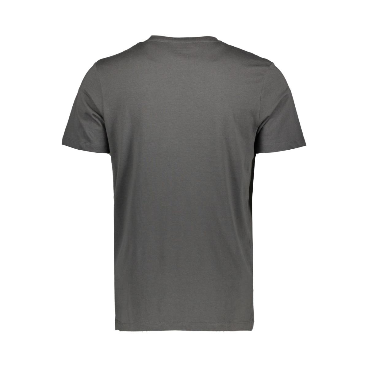 jorfading tee ss crew neck 12170562 jack & jones t-shirt asphalt/reg