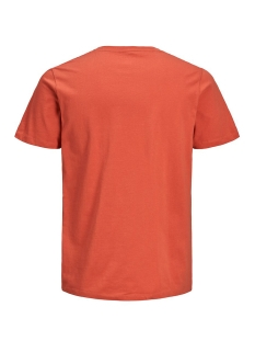 jorfading tee ss crew neck 12170562 jack & jones t-shirt chilli/reg