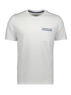 jcocarlos tee ss crew  neck 12167302 jack & jones t-shirt white/slim