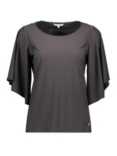 Sandwich T-shirt T SHIRT MET DRIEKWART TROMPETMOUW 21101592 80043