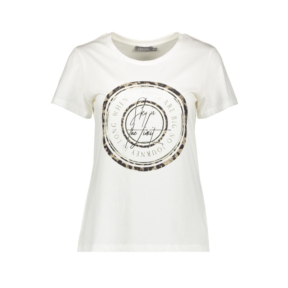 t-shirt  02065 41 geisha t-shirt off-white
