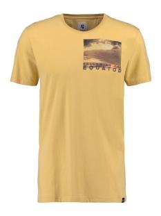 Garcia T-shirt T SHIRT MET PRINT O01002 3073 YELLOW ROCK
