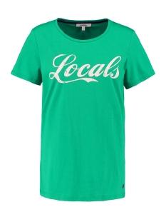 Garcia T-shirt T SHIRT MET TEKSTPRINT O00002 6721 MINT LEAF