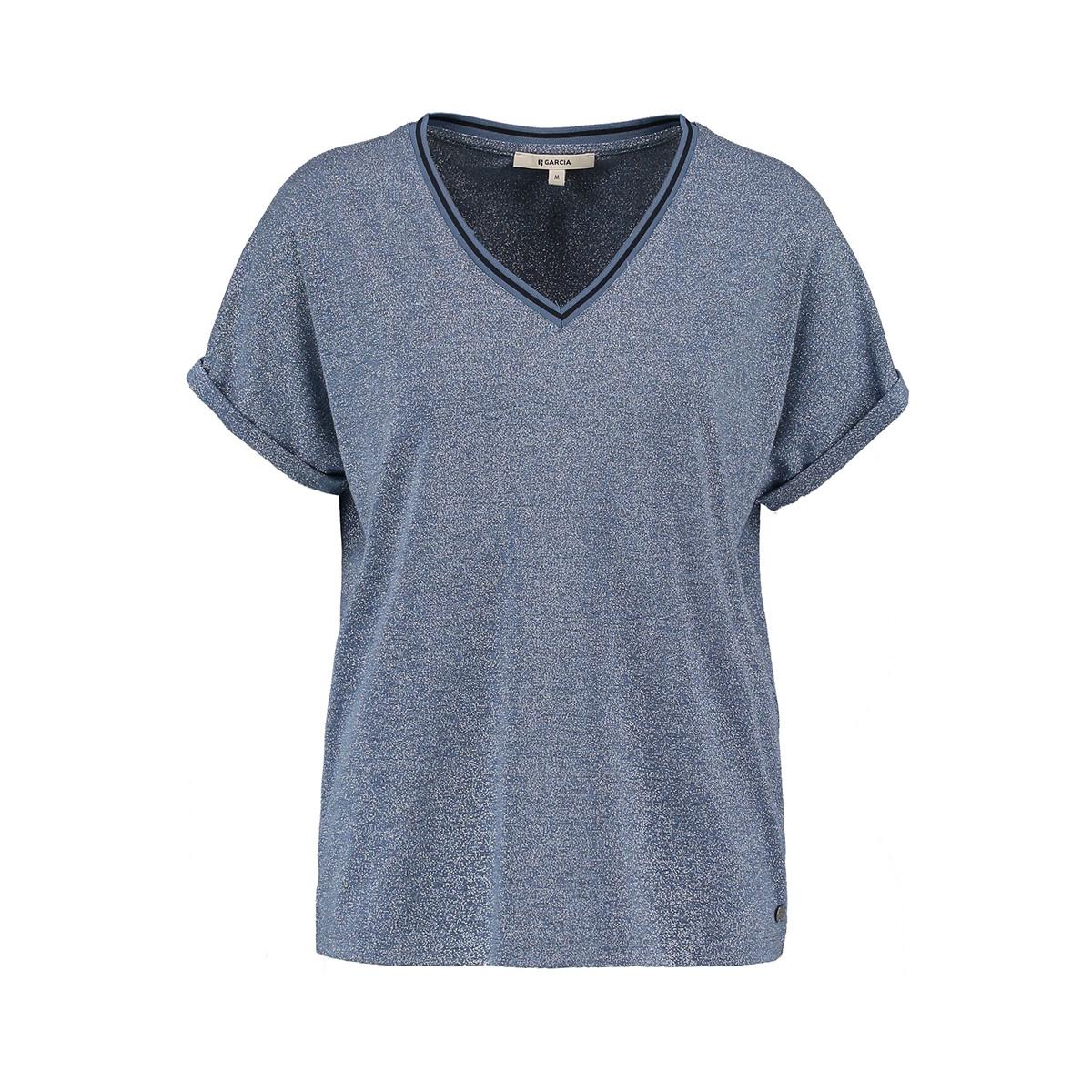 glitter t shirt o00005 garcia t-shirt 2129 french blue